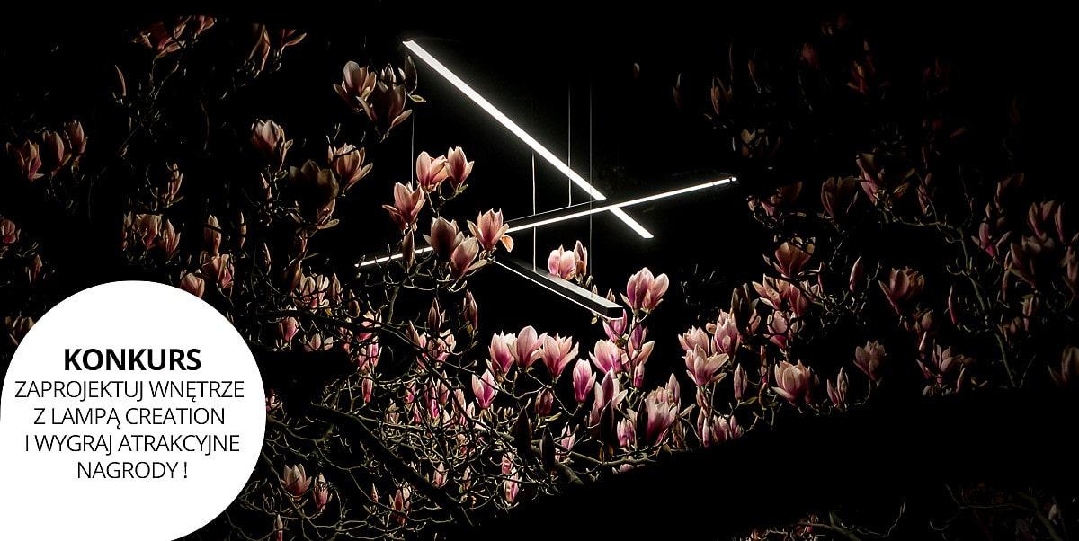 Konkurs - Zaprojektuj wnętrze z lampą Creation!