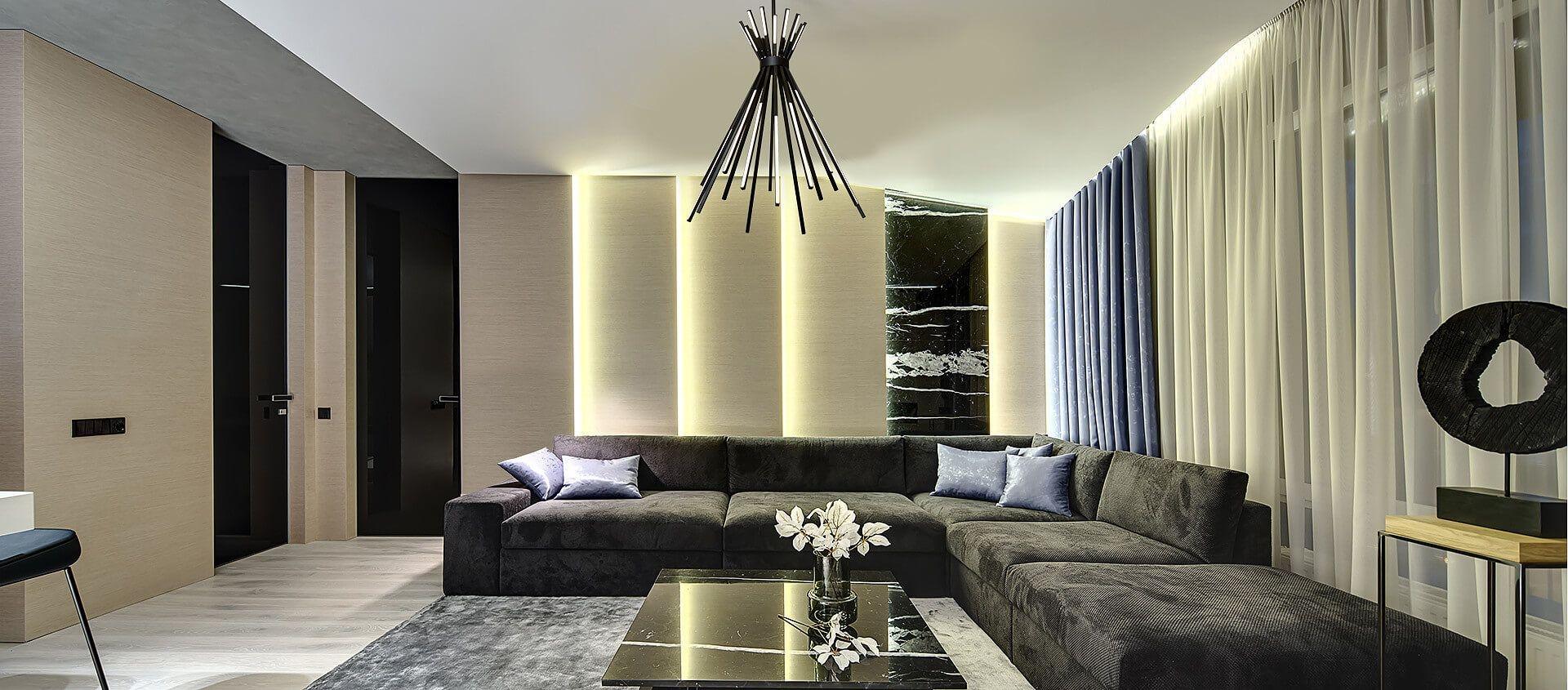 Jak zaprojektować oświetlenie w salonie